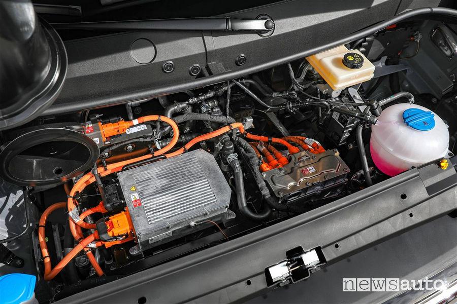 Volkswagen_e-Crafter, vano motore elettrico