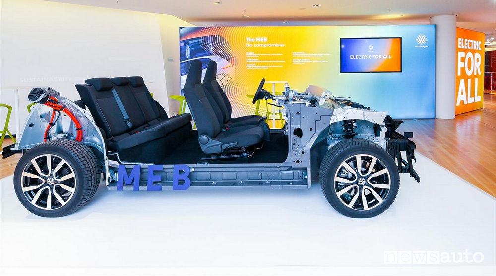 Volkswagen piattaforma modulare MEB gamma ID