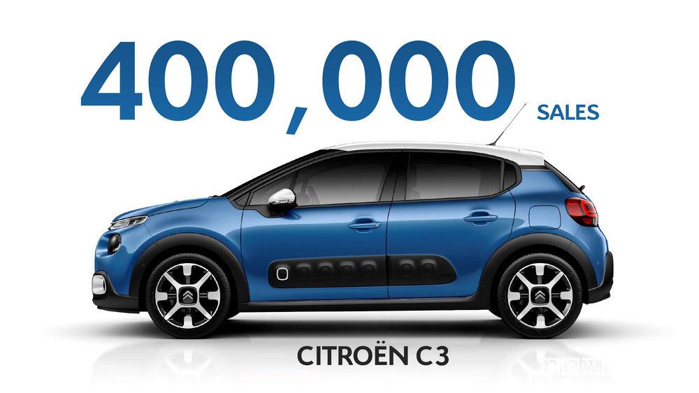 Nuova Citroen C3, 400.000 vendite in 2 anni
