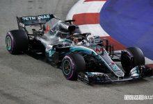 F1 2018 GP Singapore Mercedes Lewis Hamilton