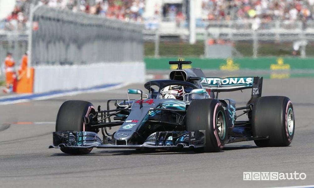 F1 2018 Gp Russia Mercedes Hamilton