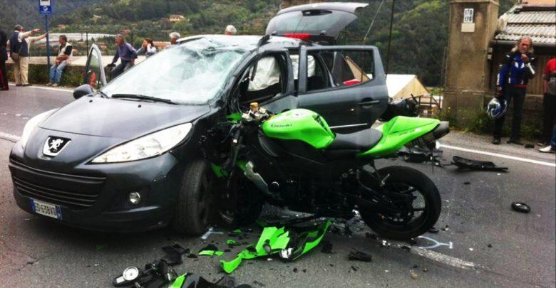 Incidente auto moto mortale