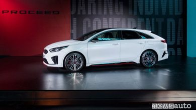 Kia Proceed 2019 GT, vista laterale