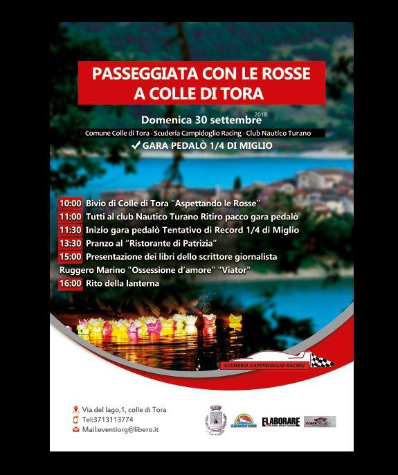 Raduno Ferrari Lago Turano Rieti sett 2018