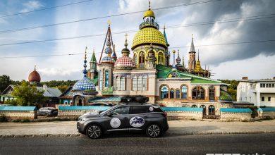 Viaggio Peugeot 3008 sulla Via della Seta, arrivo a Kazan