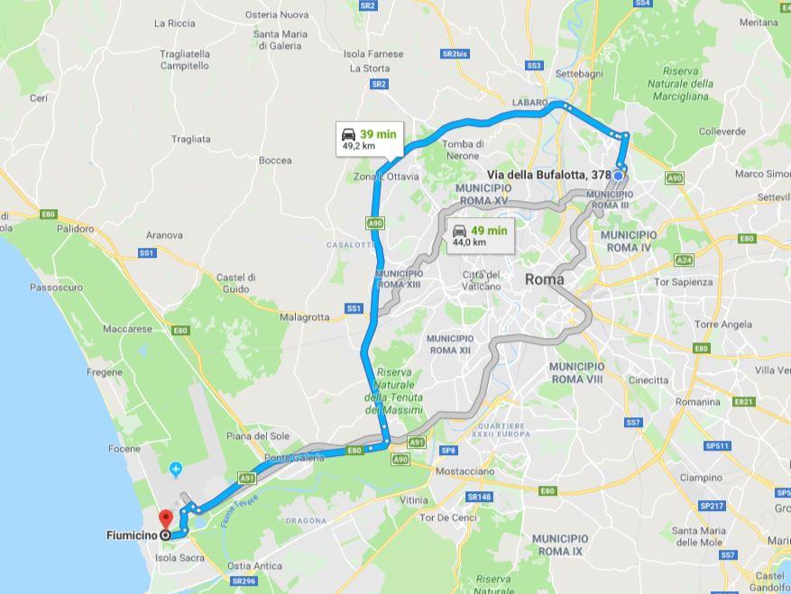 Traffico in tempo reale roma