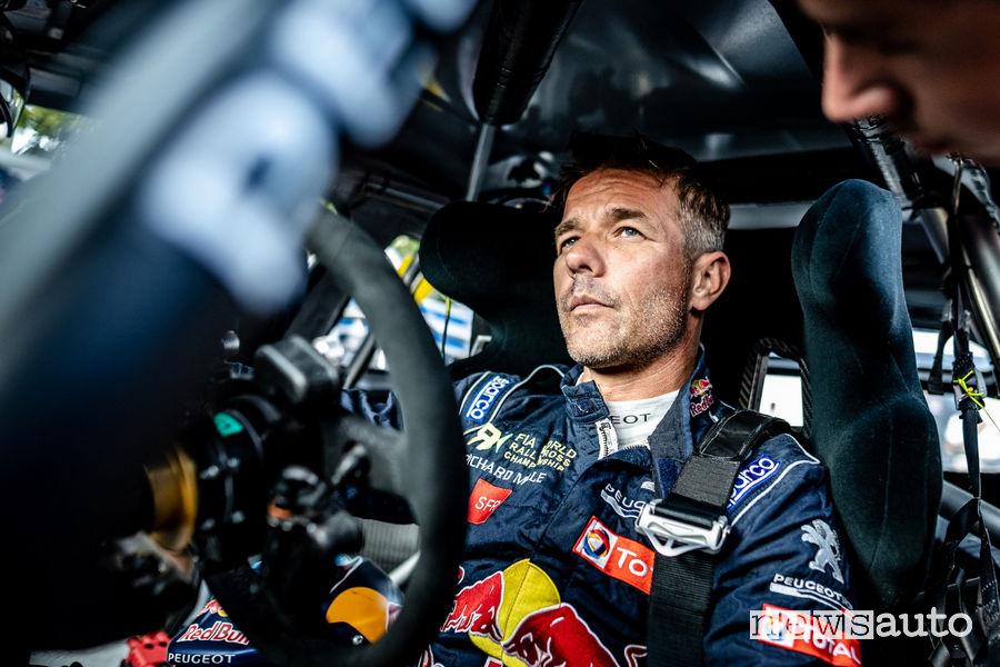 WRX 2018 Francia Lohéac, Sebastien Loeb (Peugeot)