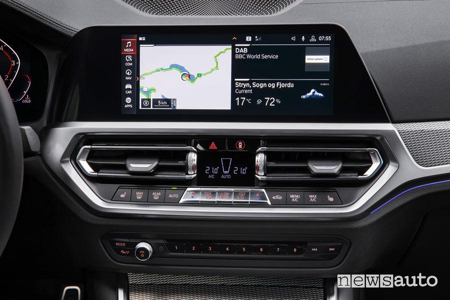 BMW_Serie 3 Berlina 2019 M Sport, navigatore