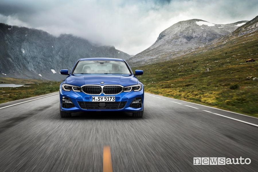 BMW_Serie 3 Berlina 2019 M Sport, vista frontale