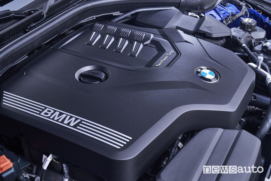 BMW_Serie 3 Berlina 2019, motore