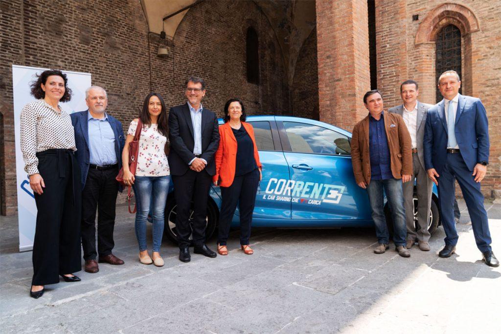 Corrente Car Sharing Bologna presentazione