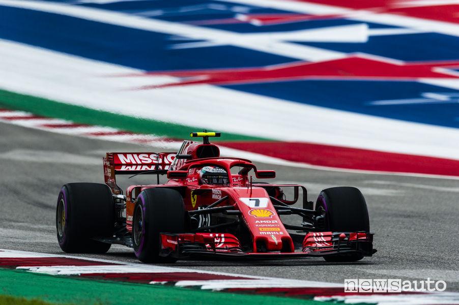 F1 2018 Gp Stati Uniti, Raikkonen (Ferrari)