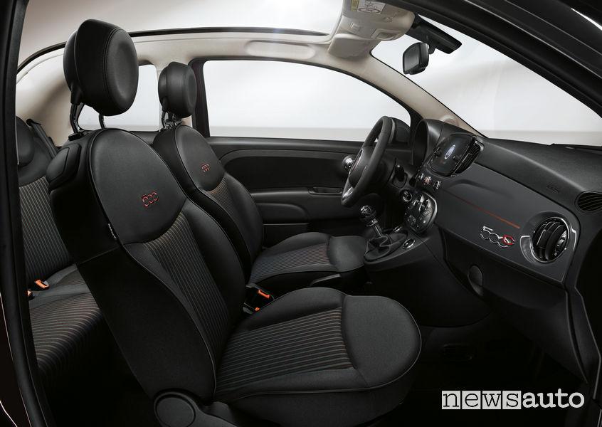 Fiat_500 Collezione, sedili anteriori