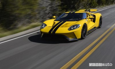 Ford GT, vista frontale