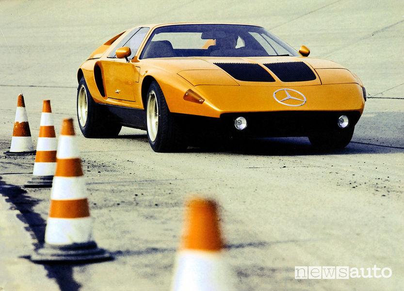 Mercedes concept C 111-II 1970