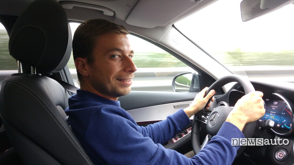 Mercedes Classe C 2018 primo contatto con Marco Paternostro