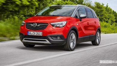 Opel Crossland X Euro 6d Temp