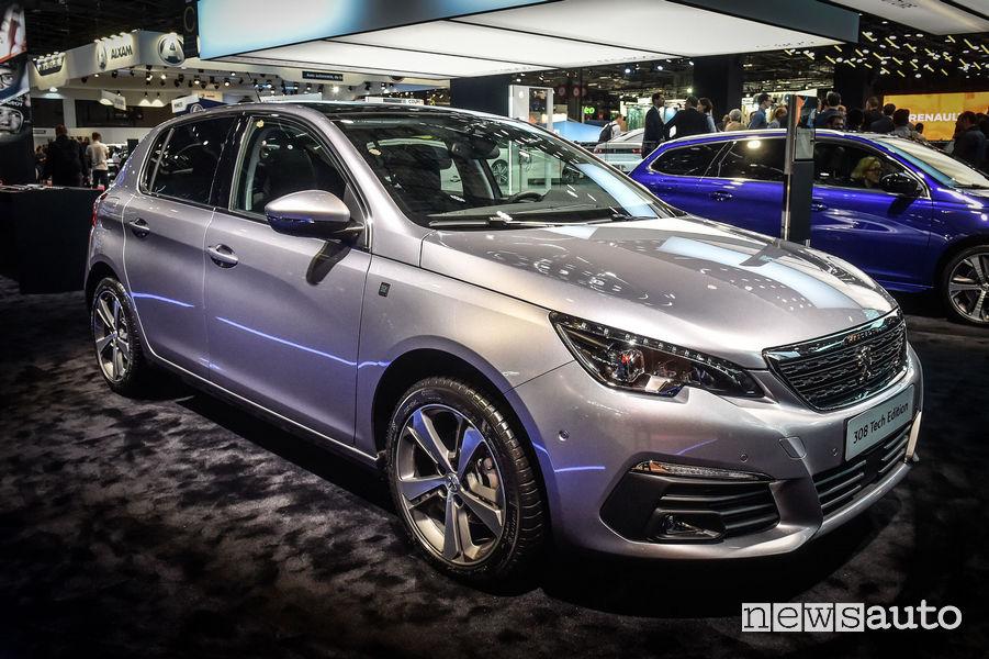 Peugeot_308 Tech Edition, vista di profilo