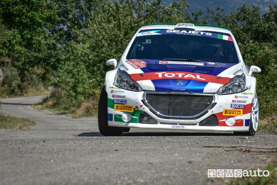 Andreucci e Peugeot al Rally Due Valli 2018