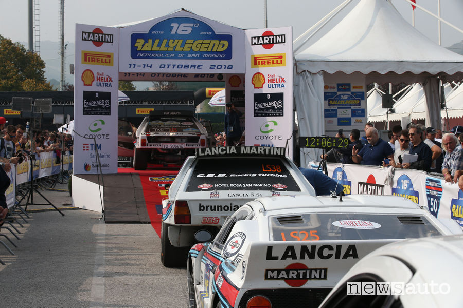 Rallylegend San Marino 2018 Martini Racing