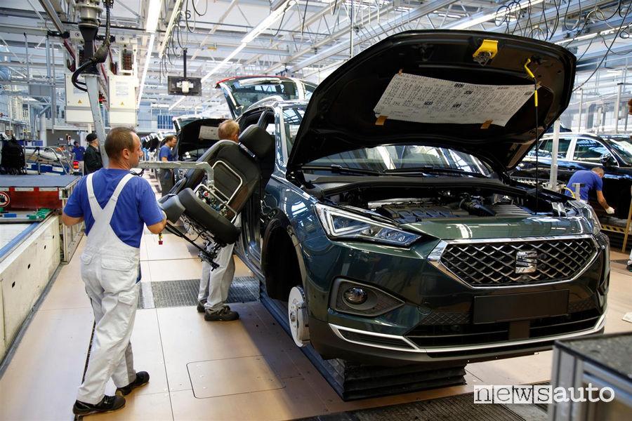 Seat_Tarraco la produzione a Wolfsburg