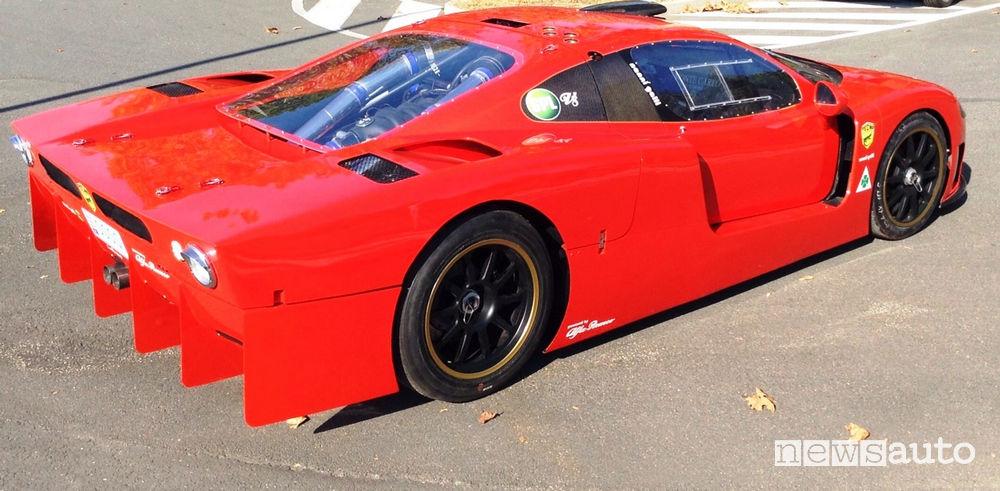 Tecno Nanni Galli V8 Ecoracing GPL, vista posteriore