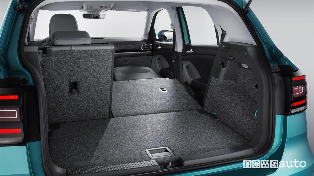 Volkswagen_T_Cross 2019, bagagliaio