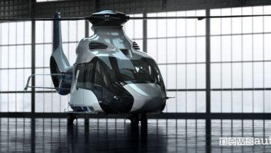 Elicottero civile Airbus H160 Peugeot Design Lab