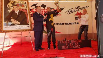 Record mondiale Fabio Barone in Marocco