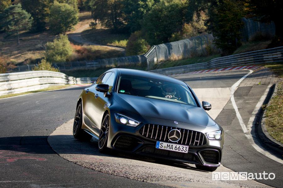 Mercedes-AMG GT 63 S 4MATIC record al Nürburgring