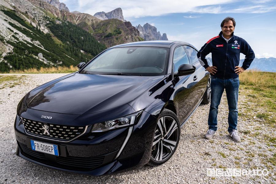 Peugeot 508 2019 con Paolo Andreucci