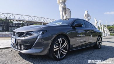 Peugeot 508 all'evento benefico Tennis & Friends Roma 2018