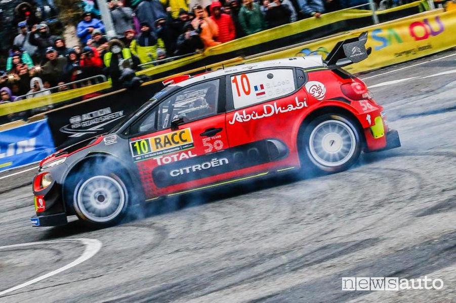 WRC Rally Catalogna 2018, Loeb/Elena (Citroen C3 WRC)