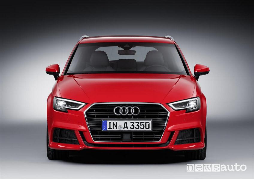 Audi_A3 Sportback 2019, frontale