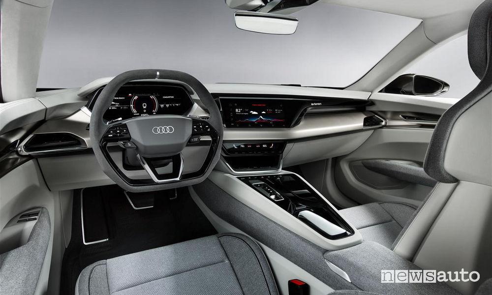 Audi_e-tron GT concept, abitacolo