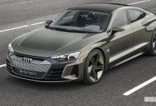 Auto sportiva elettrica Audi e-tron GT