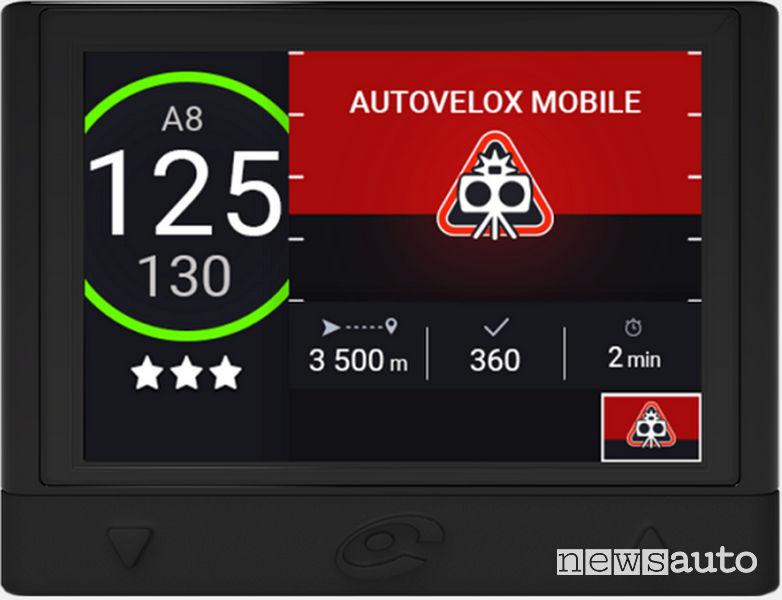 Coyote_Mini segnalazione autovelox mobile