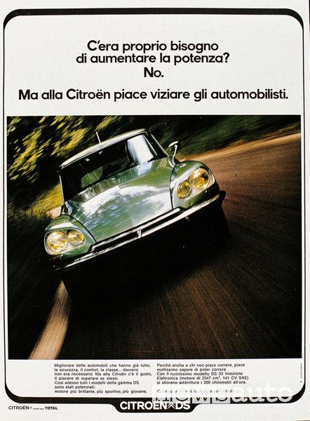 DS23 pubblicità del 1972