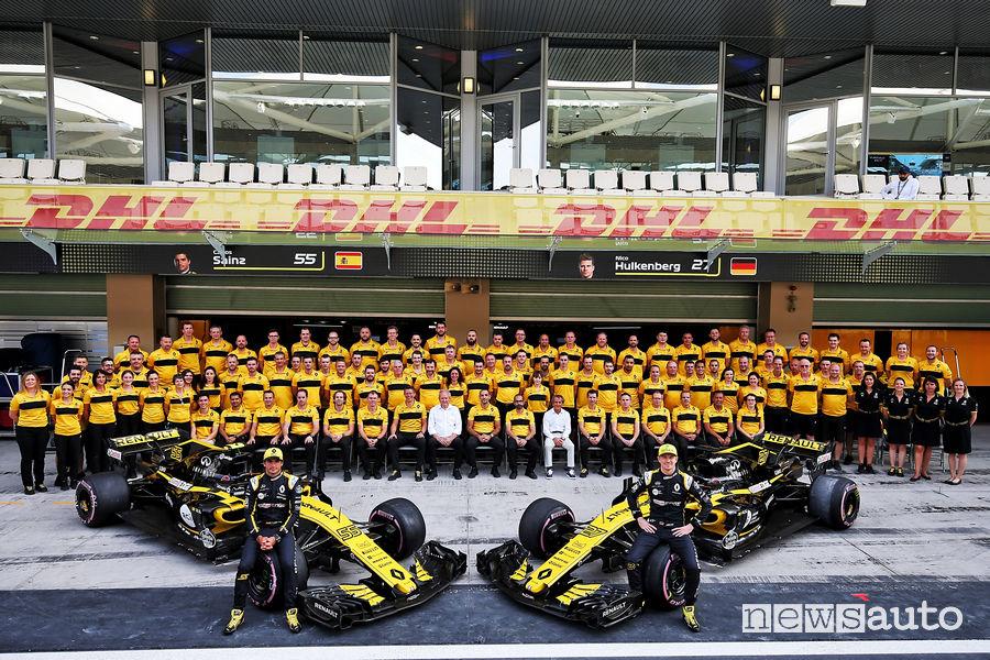 F1 Campione del Mondo costruttori 2018, Renault quarta forza