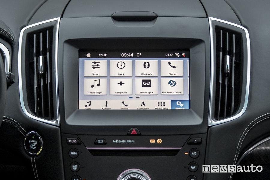 Nuovo Ford_Edge 2019 Vignale, SYNC 3