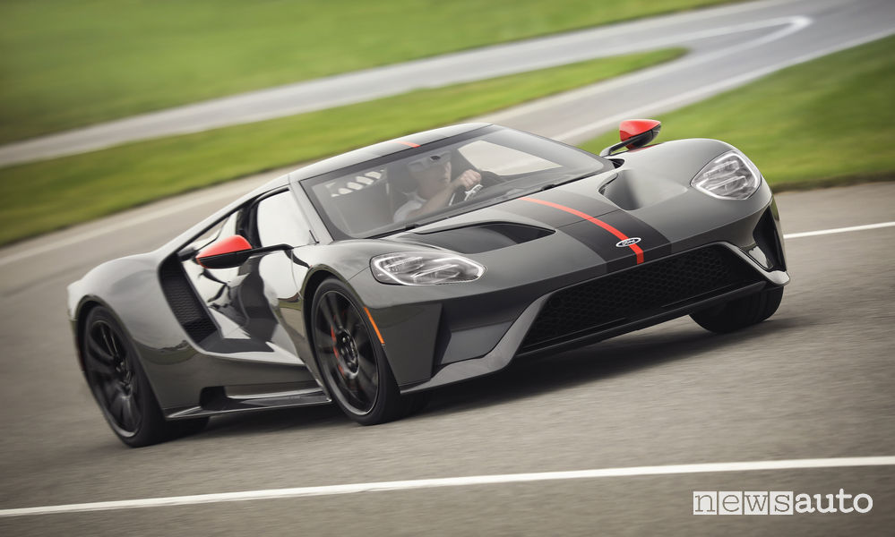 Ford GT Carbon Series, vista frontale