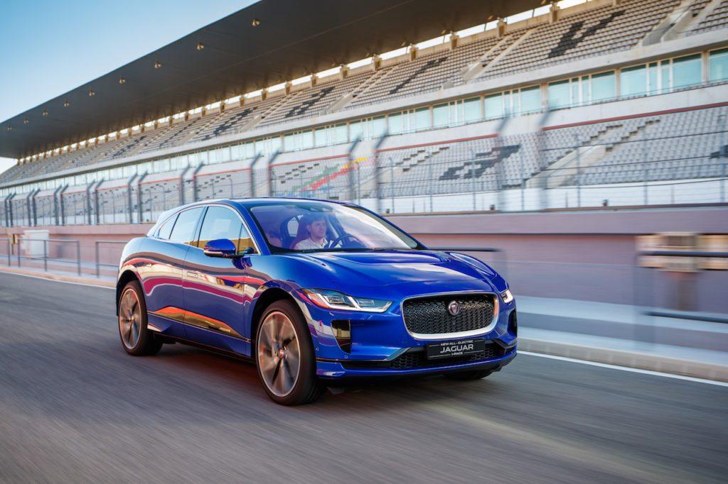 Jaguar i-Pace auto elettrica sportiva