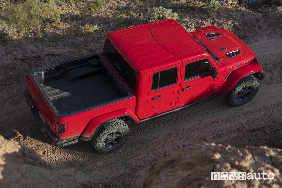 Jeep_Gladiator 2020 Rubicon, vista dall'alto