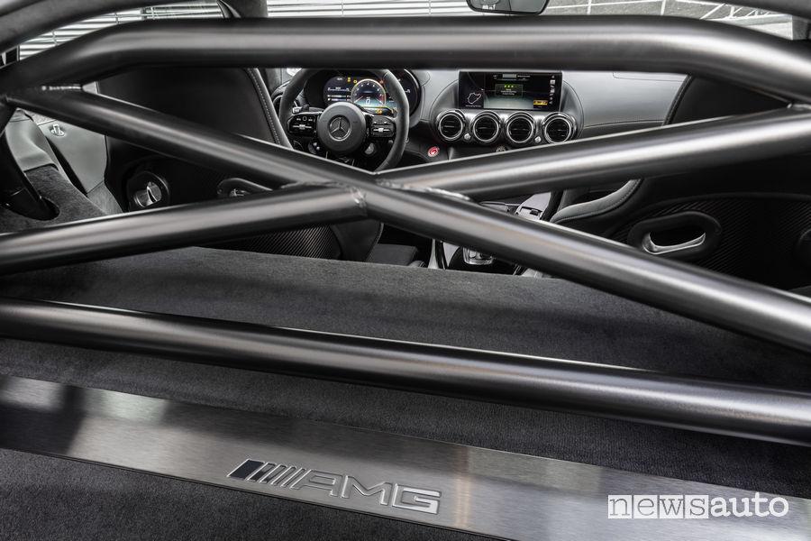 Mercedes-AMG_GT R PRO, roll bar abitacolo
