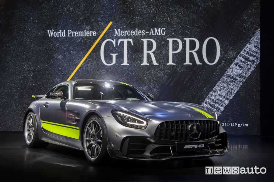 Mercedes-AMG_GT R PRO al Salone di Los Angeles 2018