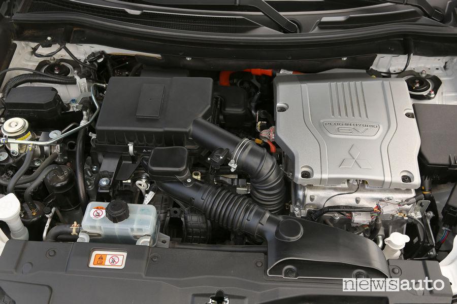 Mitsubishi_Outlander PHEV 2019, vano motore
