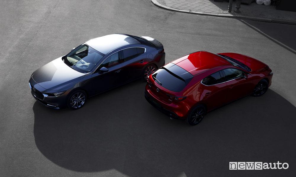 Nuova_Mazda3 berlina e hatchback