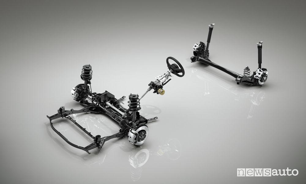 Nuova_Mazda3, schema sospensioni