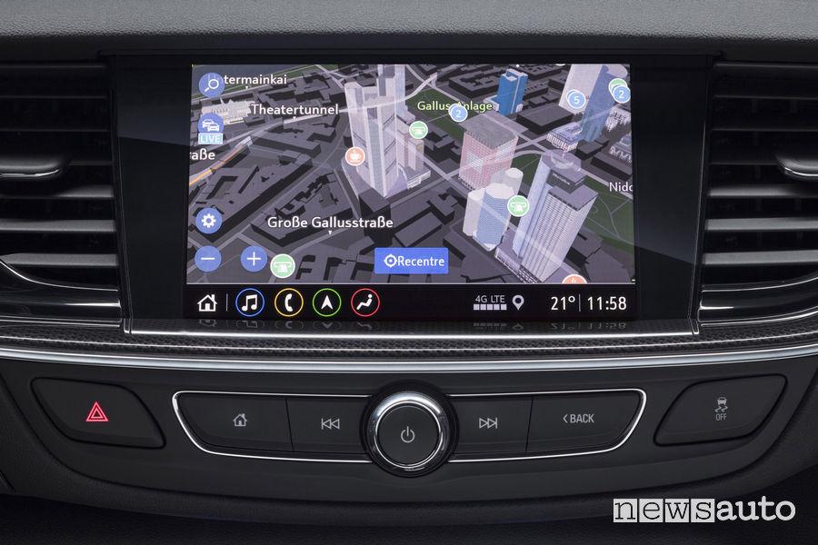 Opel Insignia Multimedia Navi Pro navigatore 3D