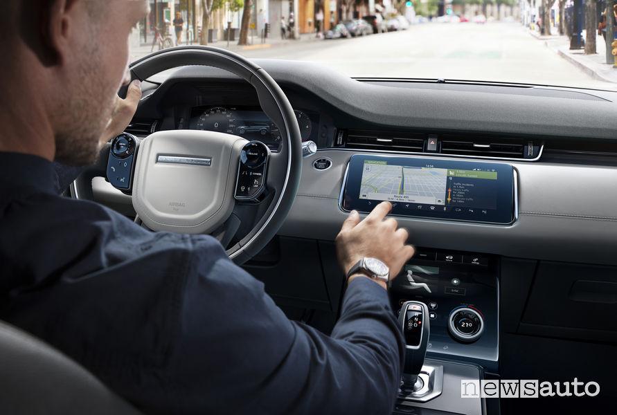 Range Rover_Evoque 2019, plancia strumenti digitale